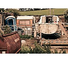 Tractors & Bubbly Photographic Print