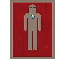 Iron Men's Room Mark I Photographic Print