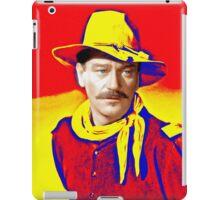 John Wayne in Rio Grande iPad Case/Skin