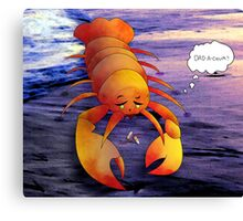 A Taste Of Regret Along The Western Sea Canvas Print