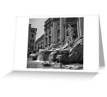 Fontana di Trevi, Rome Greeting Card