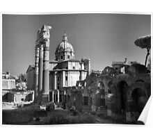 Old City, Rome Poster