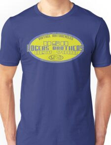 usa motorcycle by rogers bros Unisex T-Shirt
