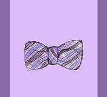 Purple Bowtie by kissescriss