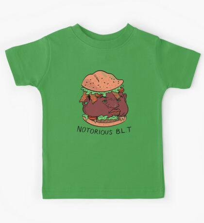Notorious B.L.T. (PUN PANTRY) Kids Tee