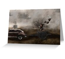The Tour Gothic Surrealism Greeting Card