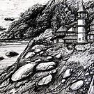 victorian lighthouse by LoreLeft27