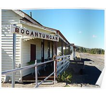 Rail Station ,Bogantungan ,Qld Poster