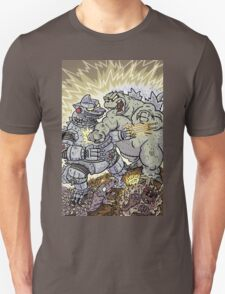 Big Godzilla Battle 2 T-Shirt