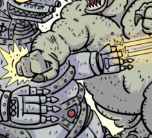 Big Godzilla Battle 2 Sticker