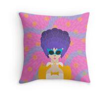 Modern Marie Antoinette Throw Pillow