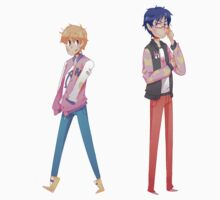 Free! / Nagisa & Rei Sticker by ZeonAce