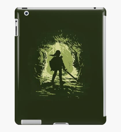 Link minimalistic design iPad Case/Skin