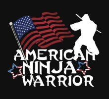 American Ninja Warrior T-Shirt by Dustin Williams