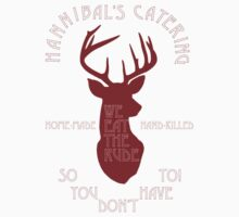 Hannibal's Catering (red) by bellabello