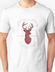 Hannibal's Catering (red) Unisex T-Shirt