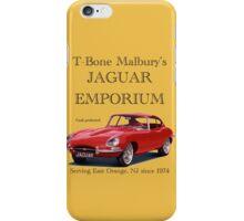 T Bone Malbury's Jaguar Emporium iPhone Case/Skin