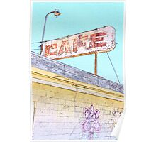 Long ago Salton Sea Cafe Poster
