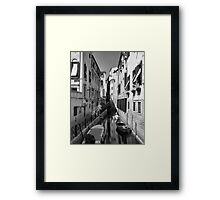 Quiet Afternoon in Venice Framed Print