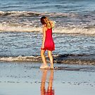 Little Girl On The Beach by Cynthia48