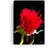 Odd Rose Out Canvas Print