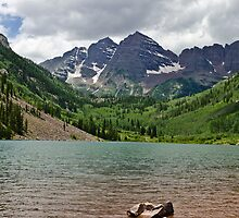 Maroon Bells 4 by Camila Currea G.