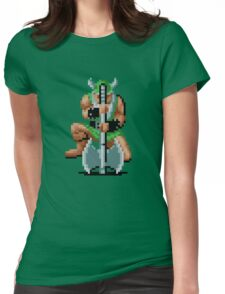 Won't axe you twice Womens Fitted T-Shirt