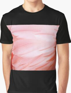 Flamingo Feathers Graphic T-Shirt