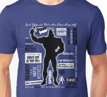 Big Blue Bug of Justice Unisex T-Shirt