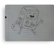 BMO from Adventure Time Canvas Print