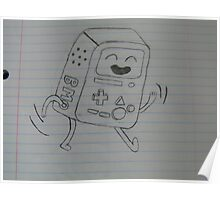 BMO from Adventure Time Poster