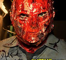 The Orphan Killer (Autographed) Mask Poster by theorphankiller