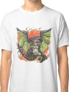 Azure Fire Wyvern Classic T-Shirt