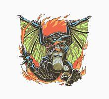 Azure Fire Wyvern Unisex T-Shirt