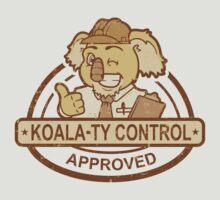 Koala-ty Control by Grant Thackray