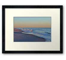Beautiful Ocean In North Carolina Framed Print