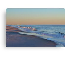 Beautiful Ocean In North Carolina Canvas Print