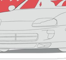 Toyota Supra MKIV Sticker