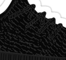 Yeezy Boost 350 Black Sticker
