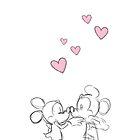 Minnie & Mickey Find Love by ChloeJade