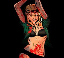 Comic Image (Audrey Miller) by theorphankiller