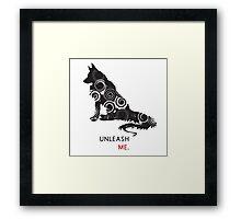Unleash Me. Framed Print