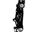blacked formula 1 race car by tinncity