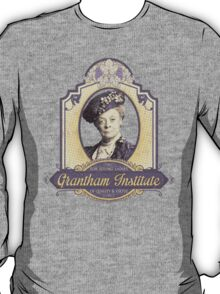 Downton Abbey Inspired - Lady Violet - Grantham Institute - Lady Violet Finishing School - Dowager's Etiquette Teachings T-Shirt