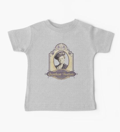 Downton Abbey Inspired - Lady Violet - Grantham Institute - Lady Violet Finishing School - Dowager's Etiquette Teachings Baby Tee