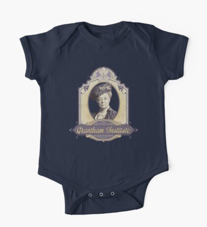 Downton Abbey Inspired - Lady Violet - Grantham Institute - Lady Violet Finishing School - Dowager's Etiquette Teachings One Piece - Short Sleeve