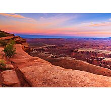 Sunset at Canyonlands National Park Photographic Print