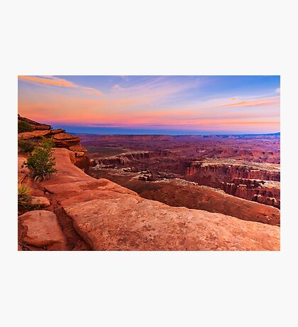Sunset at Canyonlands National Park Photographic Print