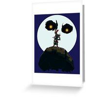 Majora's Minimalism Greeting Card