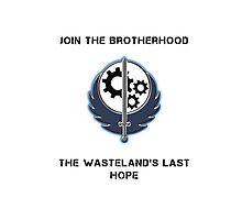 Brotherhood of Steel Hope Ad Photographic Print